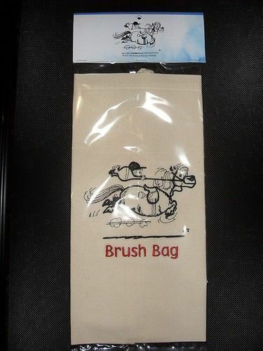 THELWELL EMB BRUSH BAG HORSE PONY CLUBBN Thell02bbg