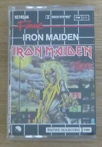 Cassette-K7-Tape-Iron-Maiden-Killers-107-4504-EMI-France