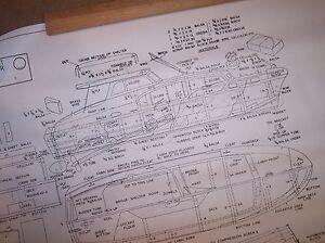CHRIS CRAFT COMMANDER model boat plans
