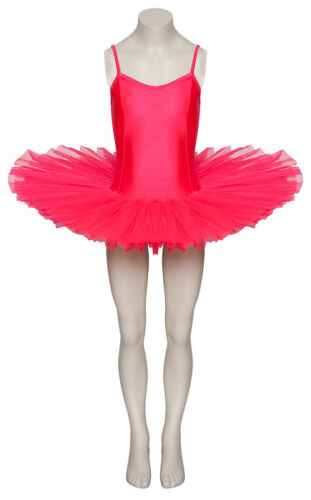 Ladies Girls Coral Ballet Fancy Dress Costume Tutu Outfit All Sizes By Katz