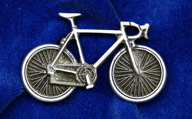 Empire Pewter Road Bike Pin