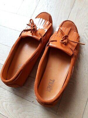 Kroll Schuhe Gr.40 Farbe Orange.getragen, | eBay