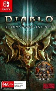 s l300 - Diablo 3 Eternal Collection Switch Game NEW PREORDER 02/11
