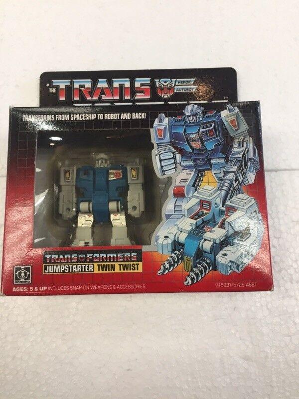 1984 The Transformers JUMPSTART TWIN TWIST by Hasbro