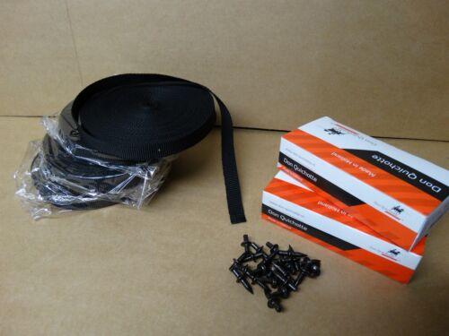 Befestigungsset 5x Rolle Gewebelochband 400x Fixpin Betonnägel Fix Pin SET12