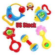 Developmental Toy Bells Kids Baby Animal Handbells Rattle Lovely Developmental