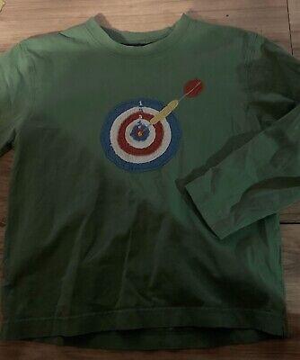 BNWT Boys Sz 14 Target Brand Blue//Grey Brooklyn Logo Long Sleeve Tee Shirt Top