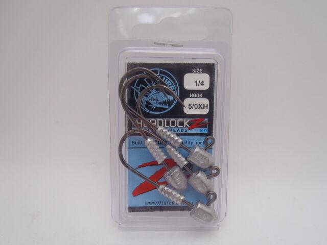 9520 Tackle Tactics TT Revlockz HD Jig Head 3//8 oz 5//0 2 per pack