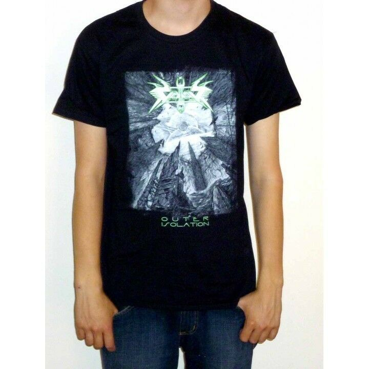 Gentle Vektor Outer Isolation New Artwork T-shirt - New Official Black Future Comfortable Feel