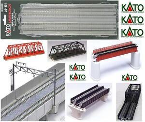 Kato 20-401 Set No. 2 Pistes à 2 lignes Mm.248 pour échelle de viaduc ou de plafond