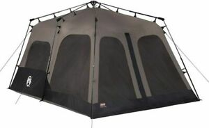 Coleman 8-Person Tent | Instant Family Brown