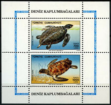 Turkey 1989 SG#MS3061 Sea Turtles MNH M/S Sheet #D40866