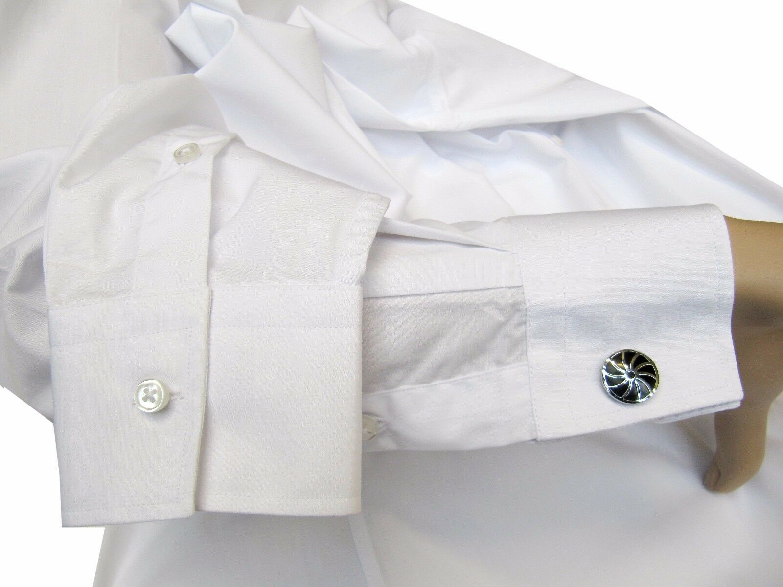 Herren Hemd extra lange Arme Arme Arme Gr.S Grau 37 38 | Günstige Bestellung  | Gutes Design  9133d3
