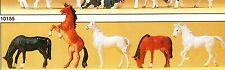 Pferde Circus Bauernhof Preiser 10156 Figuren Spur HO (16,5 mm) Zubehör OVP