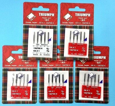 """DFO for High Stretchy Fabrics 5//Pack /""""TNC/"""" Sewing  Needles  130//705H HAx1"""