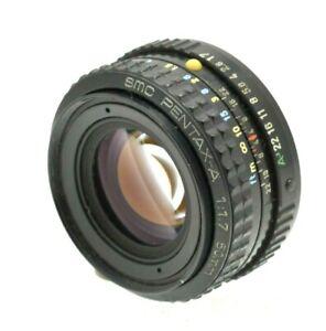 SMC-Pentax-A-50mm-f1-7-Prime-Lens-Pentax-KA-Mount-Film-oder-Digital-SLR