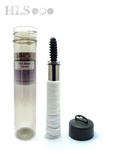 HLS Carp tackle PVA Mesh tube system MICROMESH stick bait 18mm PVA
