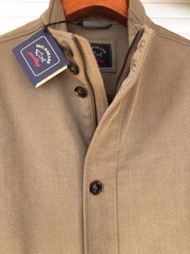 Paul & Shark Wool Wool Wool Jacket Coat Giacca Uomo Uomo 2XL XXL WOOL 7ed4b9