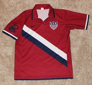 online retailer 9dcba 8ad8d Details about 2006 Don't Tread LIMITED EDITION send off USA SOCCER JERSEY  Nike SALESMEN SAMPLE