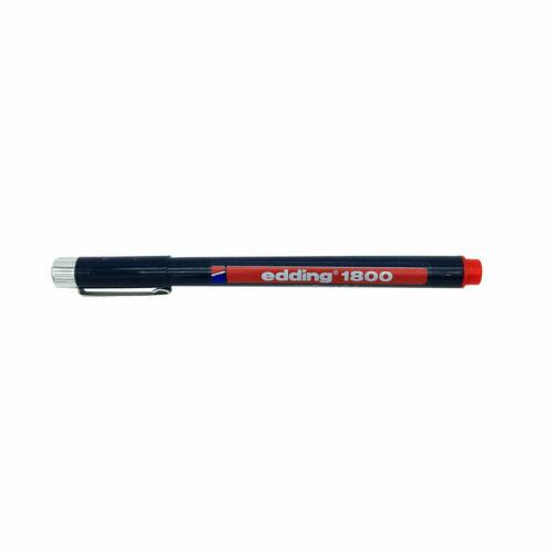 EDDING Fineliner Faserschreiber 1800 profipen Stärke Farbe wählbar