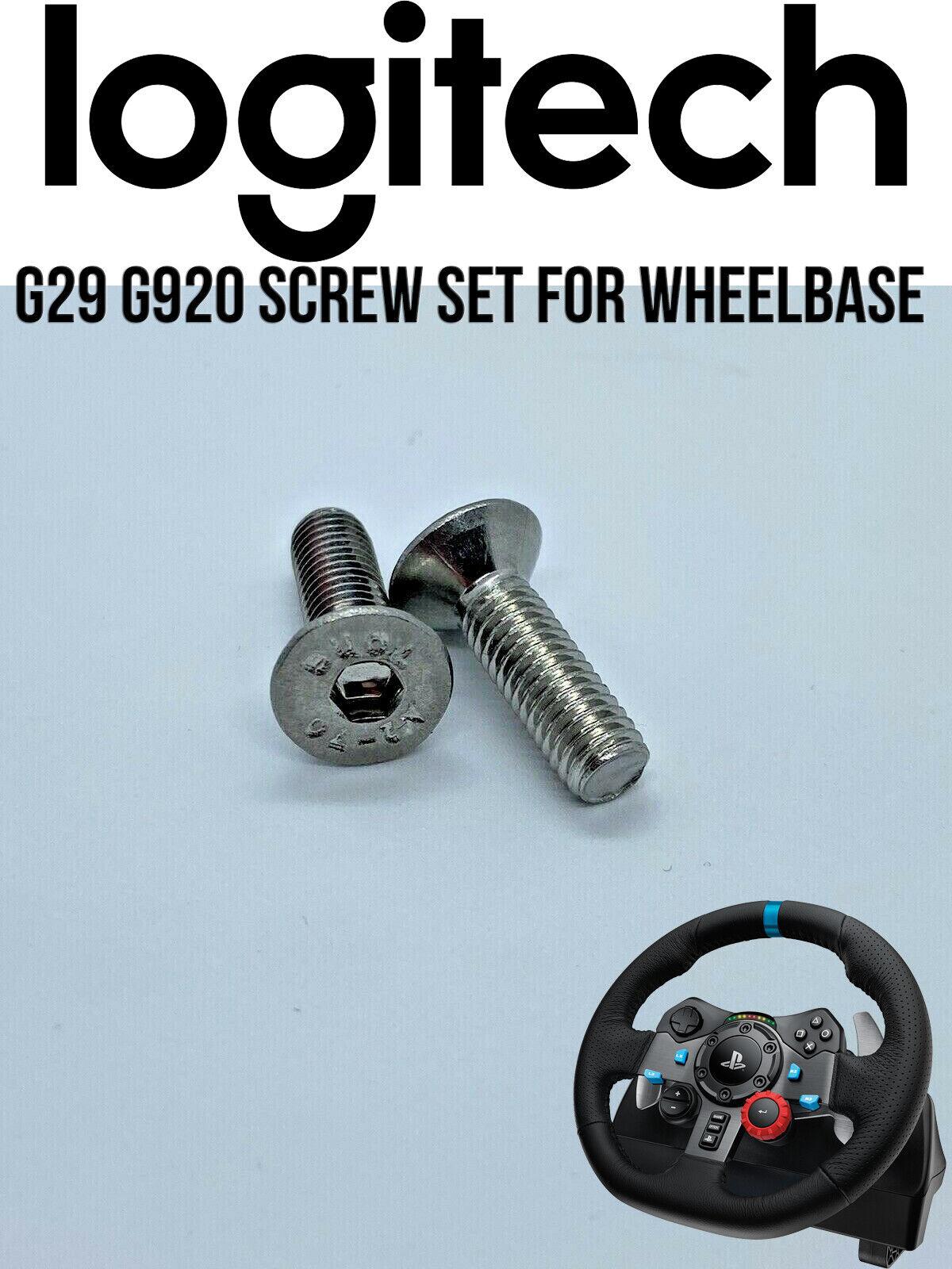Logitech G29 / G920 / G923 Wheel base or Pedals Screw Set / Bolt Set