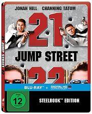 Blu-ray ++ 21 & 22 Jump Street ++ Exklusive Steelbook Edition ++ NEU & OVP