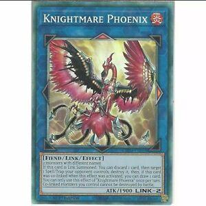 Yugioh MP19-EN027 • Knightmare Phoenix • Secret Rare • 1st Edition