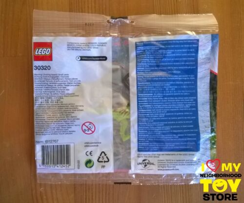 RETIRED - LEGO 30320 30382 5000193818 JURASSIC WORLD™ POLYBAGs (2015÷8) - NEW