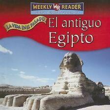El Antiguo Egipto (Vida en el Pasado) (Spanish Edition)-ExLibrary