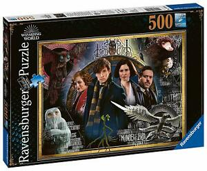Ravensburger-Jigsaw-Puzzle-CRIMES-OF-GRINDELWALD-Fantastic-Beasts-500-Pieces