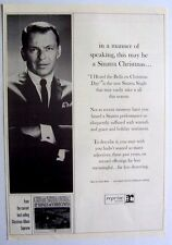 FRANK SINATRA 1964 Poster Ad I HEARD THE BELLS ON CHRISTMAS DAY