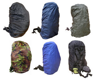 Rucksack-Rain-Dust-Waterproof-Bag-Back-Travel-Pack-Backpack-Poncho-Cover-Mixed