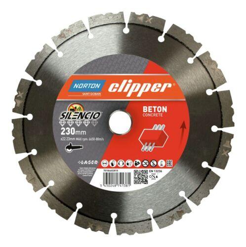 Norton Clipper Diamant-Scheibe Pro Beton Silencio 350 mm 70184603274