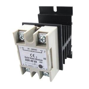 Voltage-Resistance-Regulator-Solid-State-Relay-SSR-40A-24-380V-AC-w-Heat-Sink-DT