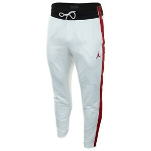 21e4ef28b619ad Men s Jordan Athletic SportsWear Casual Ring Pants White Gym Red ...