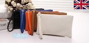 Le donne PU pelle bowknot frizione Portatile Borsetta Zipper Wallet borsa porta carte di credito  </span>