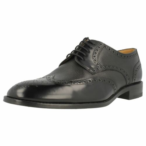 lacets Noir Chaussures à Bordeaux Arlington Gents Smart Loake marron Noir HTBWFq