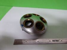 MICROSCOPE PART LEITZ GERMANY NOSEPIECE WITHOUT OPTICS AS IS BIN#Y5-43