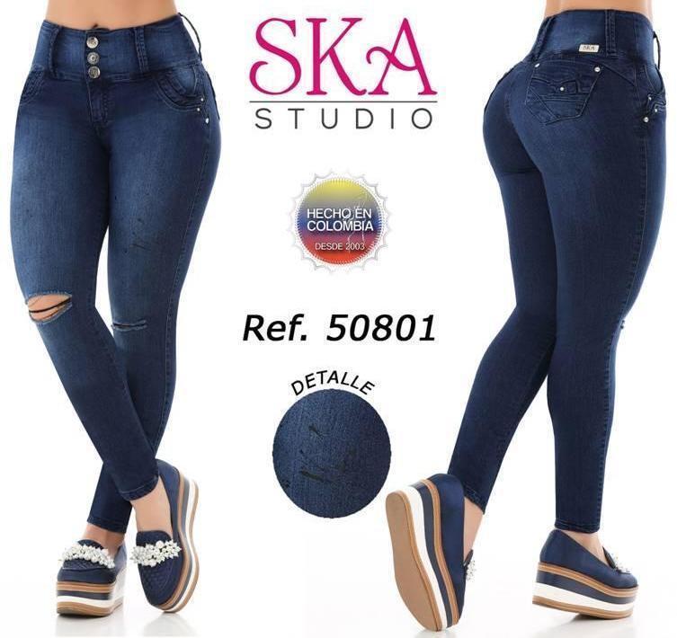 Jeans Colombiano Levanta Cola PUSH UP 50801