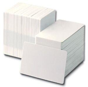 Vuoto-BIANCO-PVC-carte-d-039-identita-CR80-760-Micron-QTY-039-s-10-1000-Gratis-P-amp-P