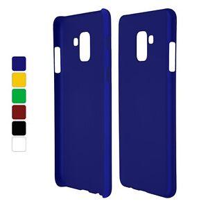 Custodia-Rigida-Gommato-per-Samsung-Galaxy-A8-2018-Plus-Cover-Protettiva