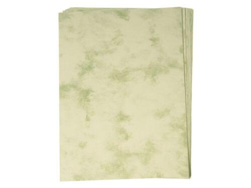 Marmorpapier 60 Blatt Urkunde Grußkarten Einladungen R31