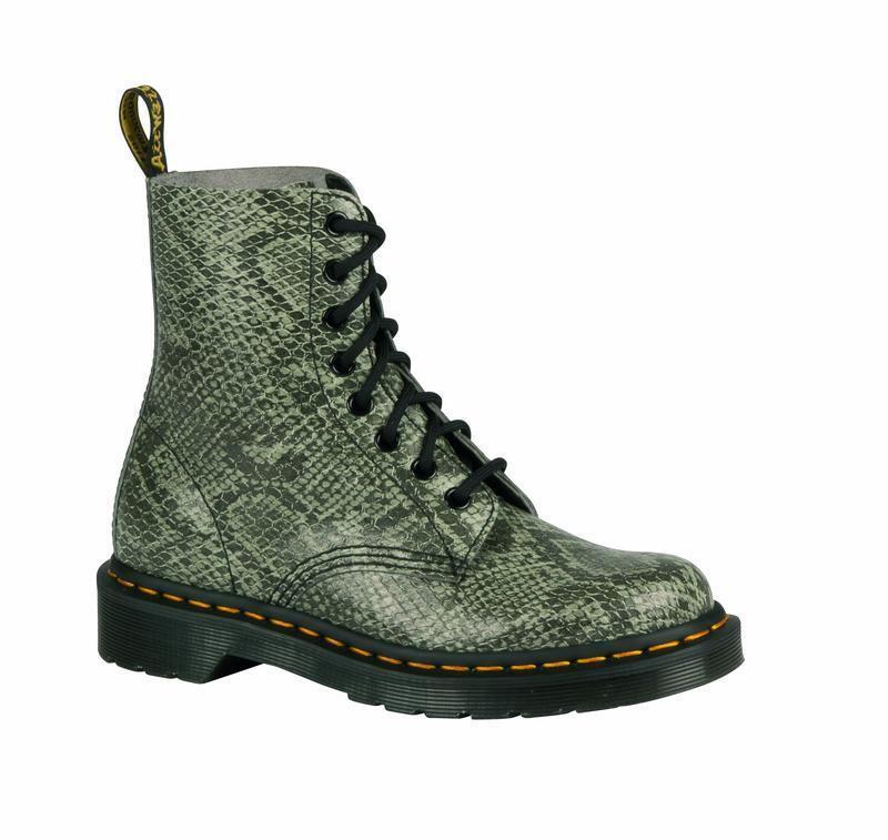 Grandes zapatos con descuento Dr Martens Doc 8 Loch 1460 Pascal  Light Grey Viper 21445051 das Original