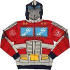 Transformers Optimus Prime Autobot Costume Licensed Zip Up Hoodie S-XXL