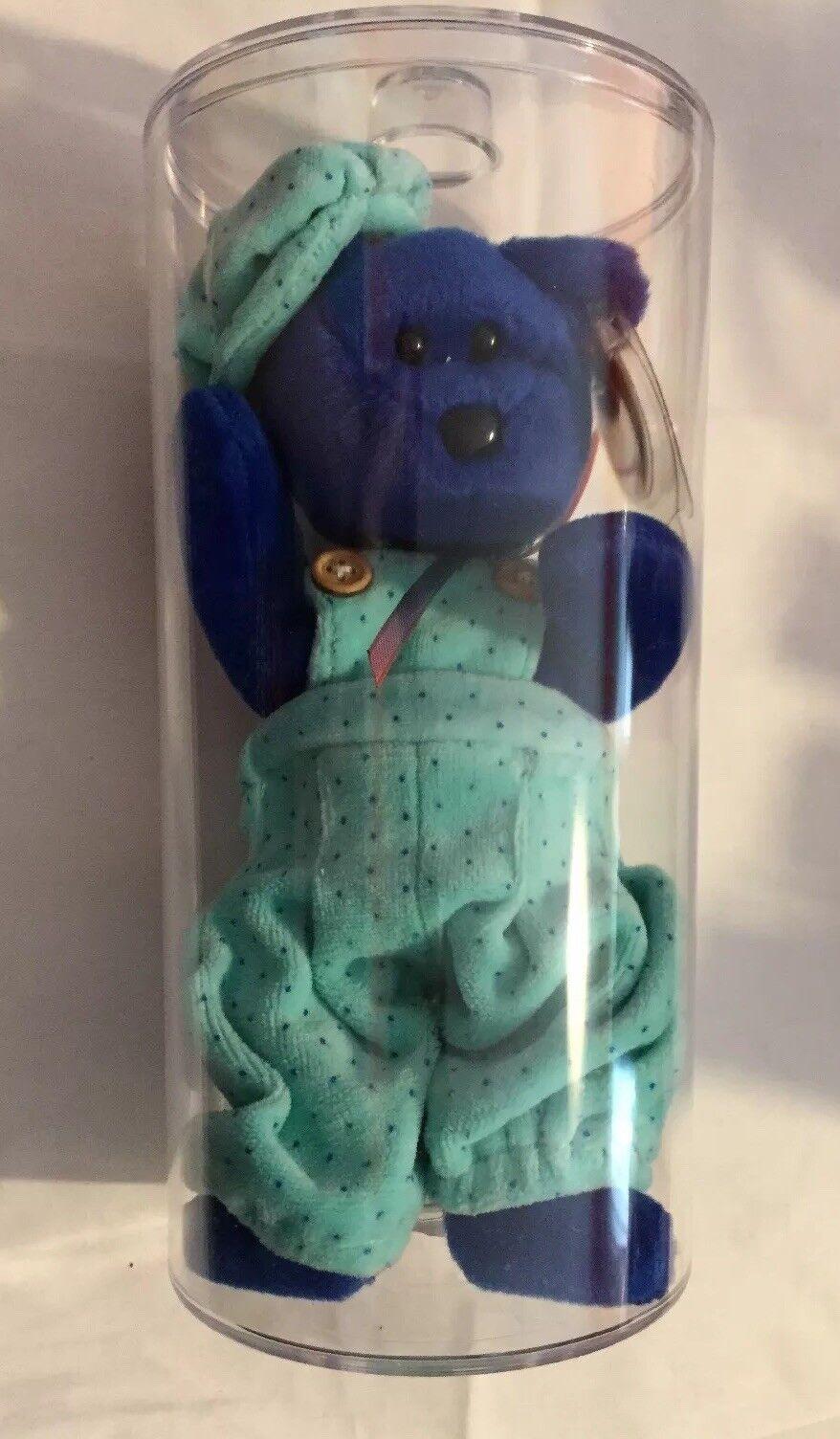 Nestlö 1998 ty beanie baby Blau - box club im fall anzeige