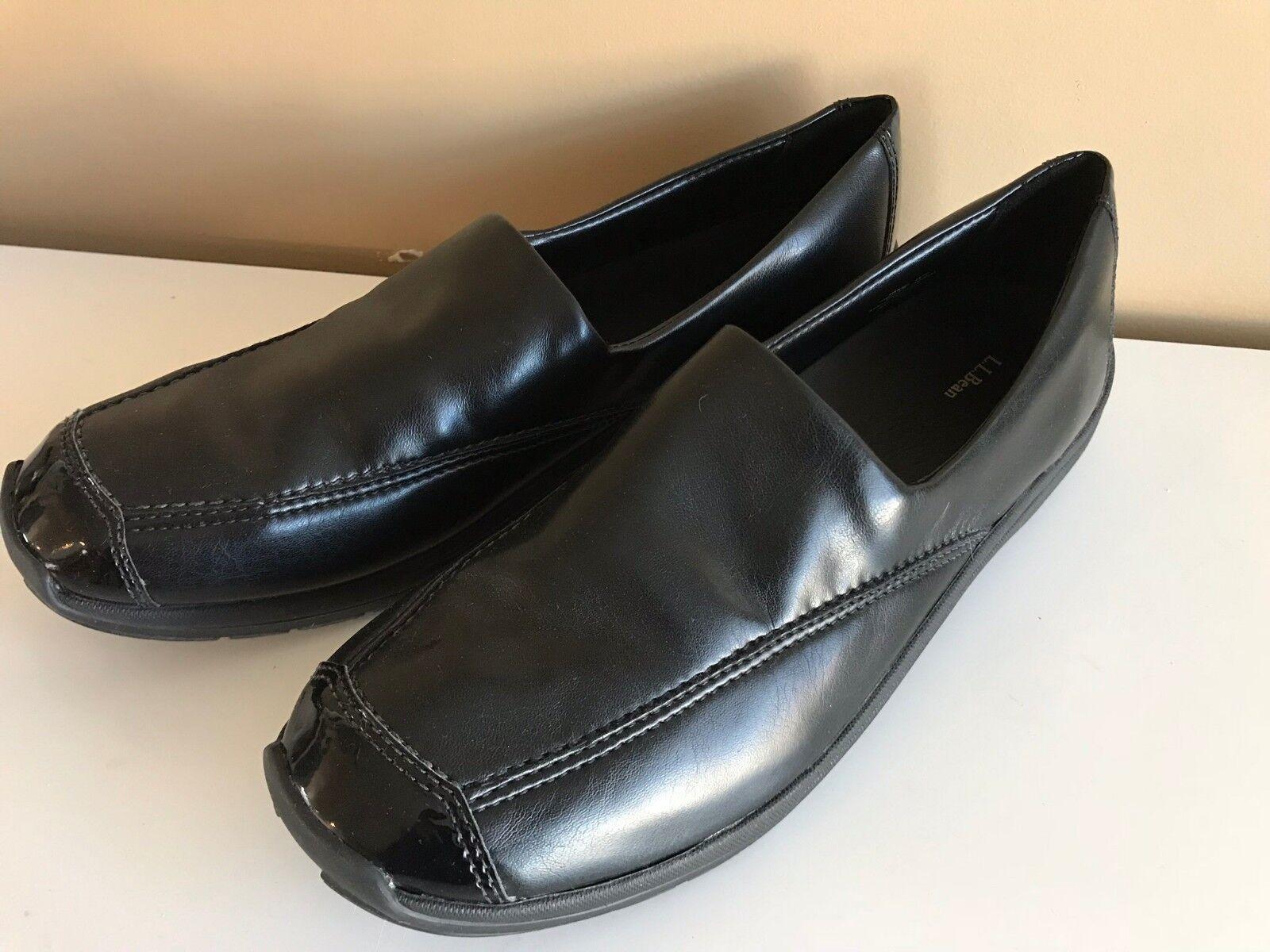 Ll Bean Mocasín Zapatos para mujer negro negro negro 7f8abf