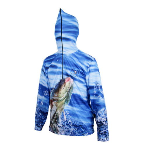 UV Sun Protection Long Sleeve Quick Dry Casual Hoodies Fishing Shirt UPF 50