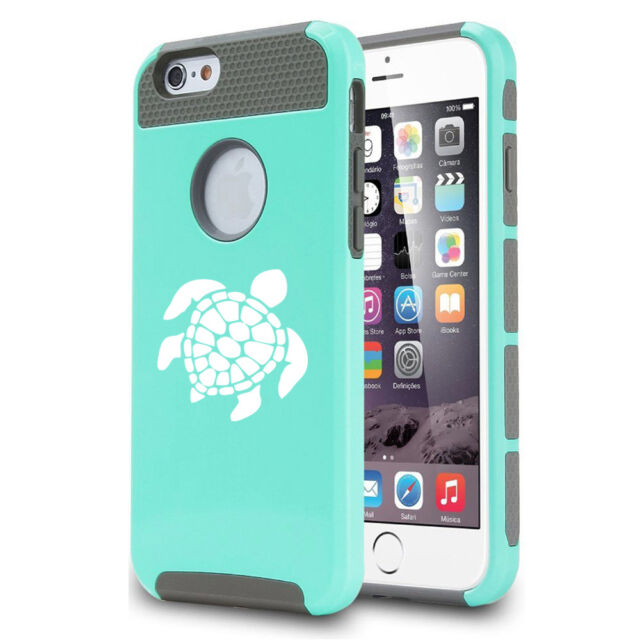 huge selection of 1dc7e acbc1 For Apple iPhone X XS Max 7 8 Plus Shockproof Impact Hard Case Cover Sea  Turtle