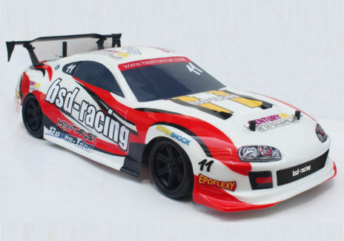 BSD Racing Prime Street Assault R C Radio Remote Control 4WD Drift RC Car 1 10
