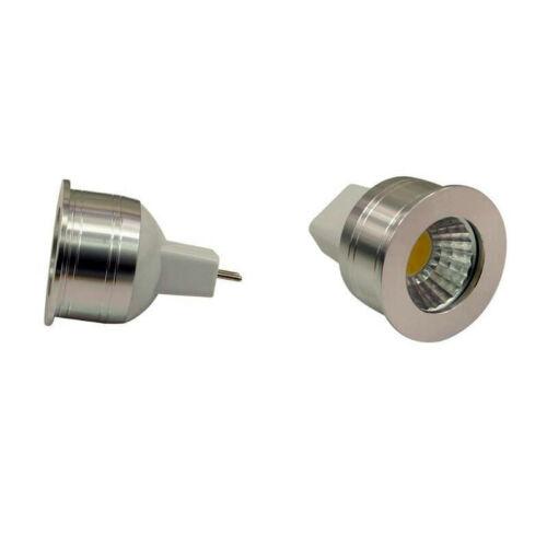 5 x Mini LED COB MR11 MR16 5W LED 35mm 12V Small COB LED Bulb Lamp GU4 MR11 5W